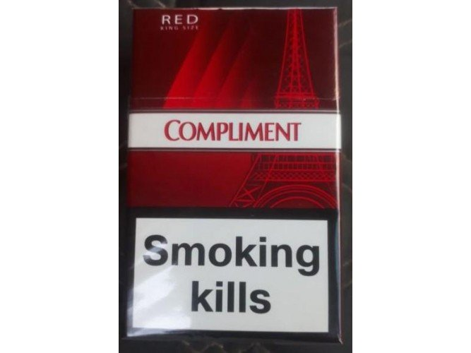 Сигареты Compliment Red Duty Free